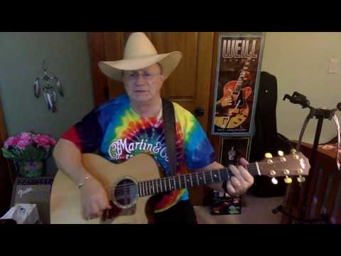 2132  - I'm Going Crazy In 3 Quarter Time -  Billy Joe Shaver vocal & acoustic guitar cover & chords