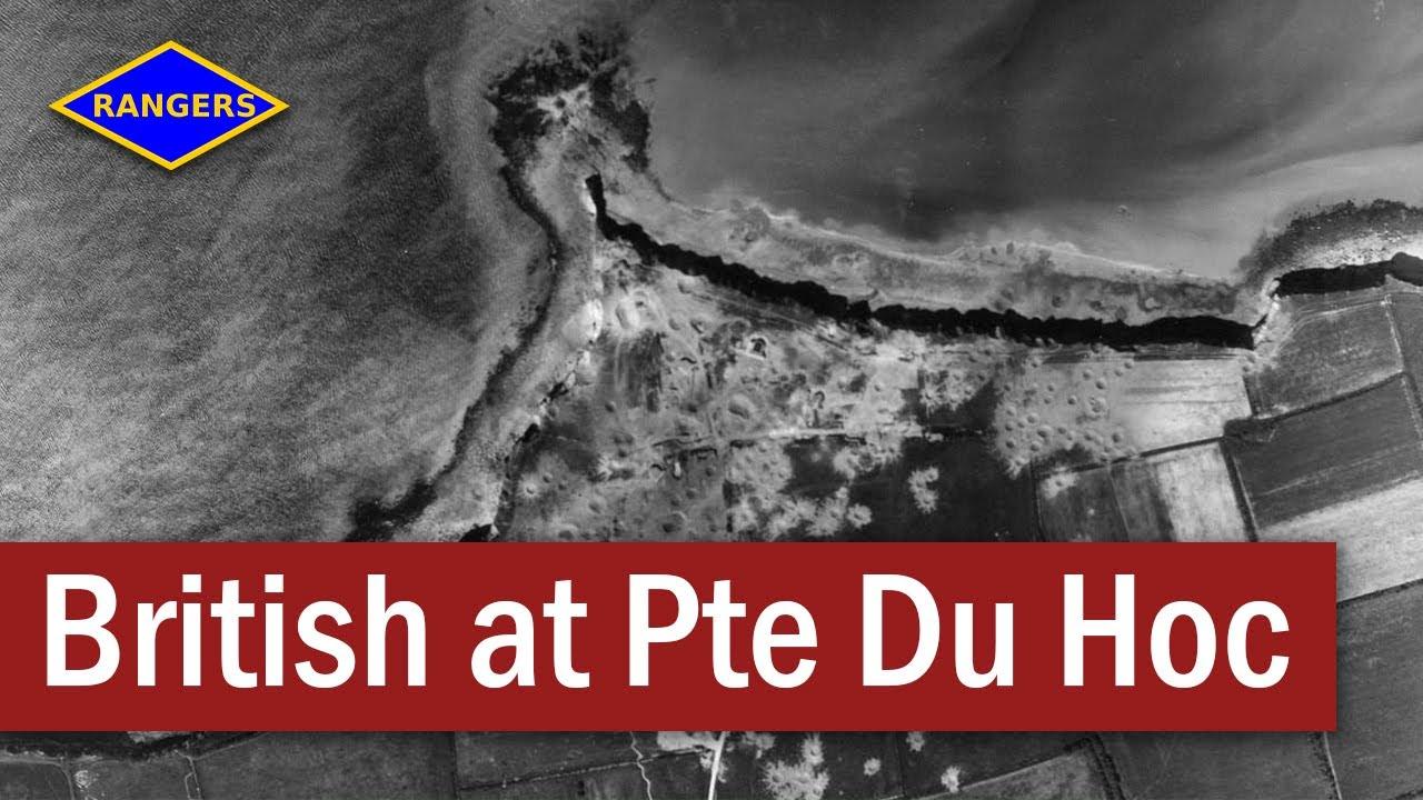 Download British troops at Pointe du Hoc   June 1944