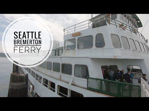 Seattle To Bremerton Ferry Trip On Washington State Ferry MV Hyak