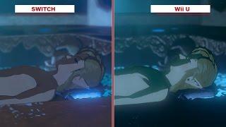 The Legend of Zelda: Breath of the Wild - Wii U (E3 2016) vs. Switch Graphic Comparison
