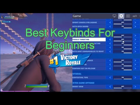 The *PERFECT* Keybinds For Beginners - Keybinds For Small Hands - Updated Fortnite Guide