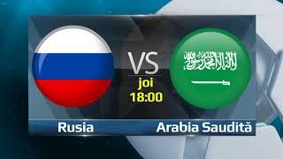 BetMan ~ Dragoș Pătraru ~ 14 Iunie 2018  ~  🇷🇺 Rusia - 🇸🇦 Arabia Saudită