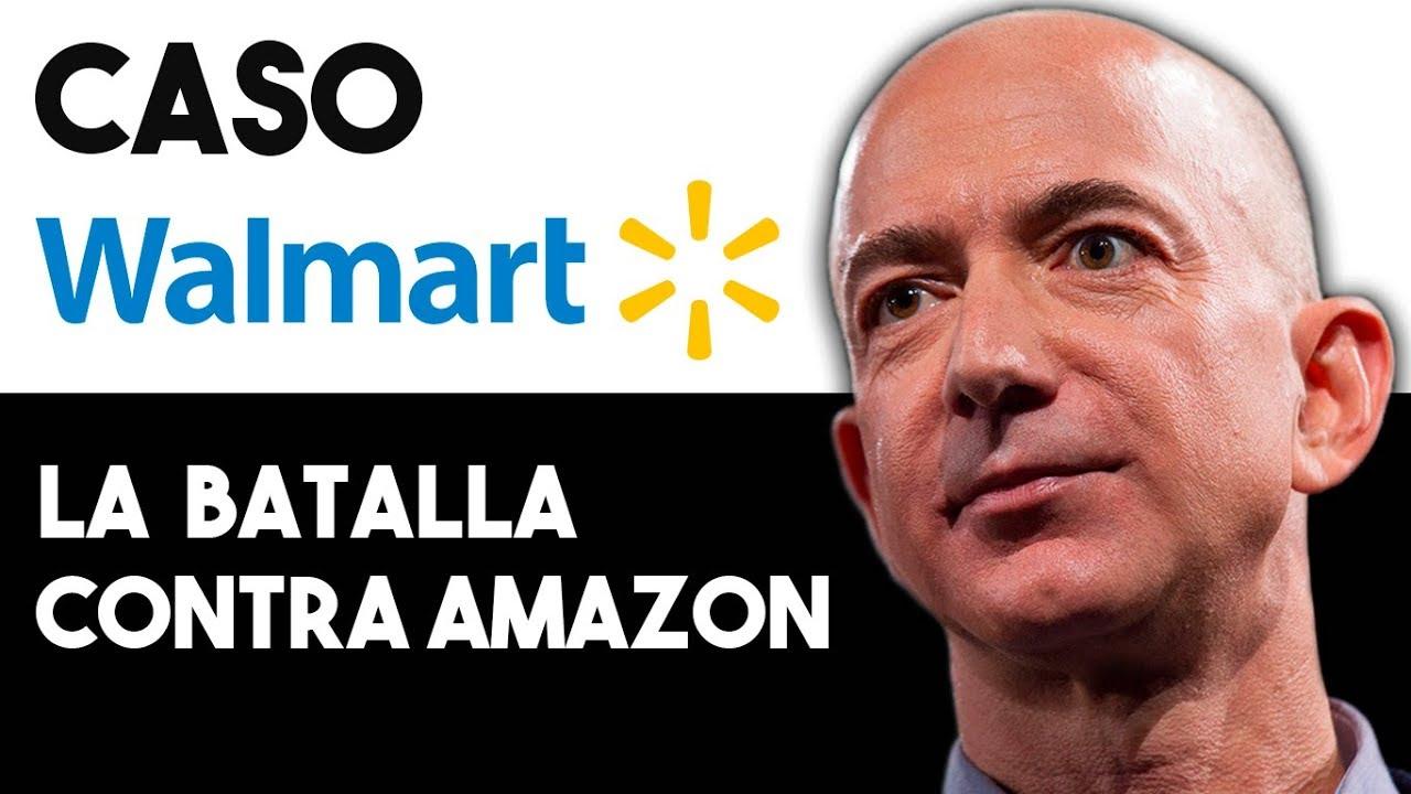 ÉPICA Batalla entre Walmart y Amazon