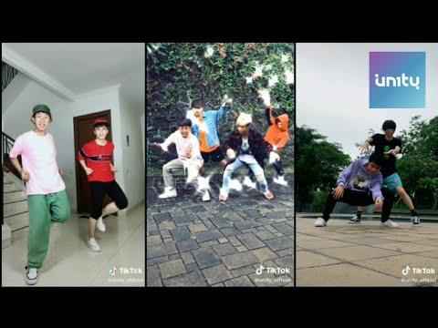 UN1TY Dancer Line TikTok Content Part 1. Shandy Un1ty, Gilang Un1ty, Fenly Un1ty, Zweitson Un1ty.