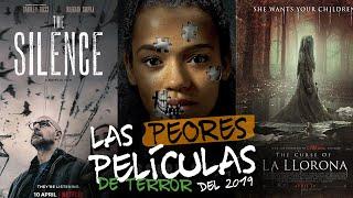 Las 3 Peores Películas de Terror del 2019 | #TeLoResumo