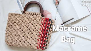 [Eng Sub] Macrame Bag Easy Tut…
