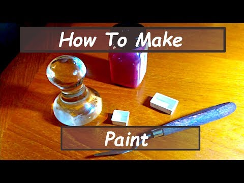 Tutorial: How To Make Watercolor Paint