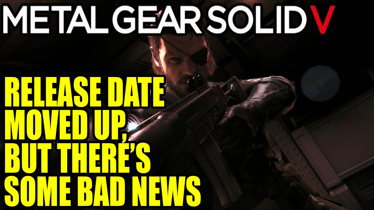 Konami has remained quiet on The Phantom Pain 's release date, and ...
