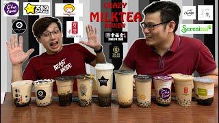 CRAZY REVIEW - Titikmen - 10 Brands of Brown Sugar Milktea 2019 Edition! (W/ GIVEAWAY)