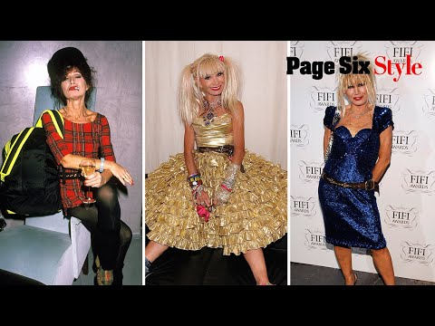 Fashion icon Betsey Johnson reviews her most memorable red carpet looks | Page Six Style