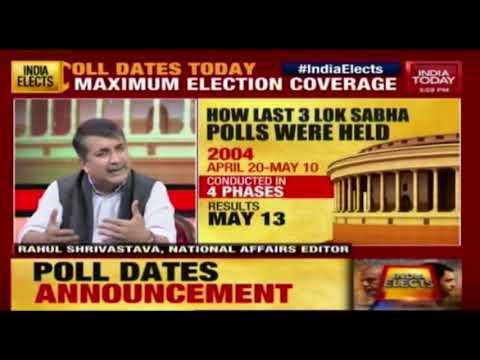 2019 Poll Countdown Begins   Panel Discussion On Lok Sabha Poll Announcement