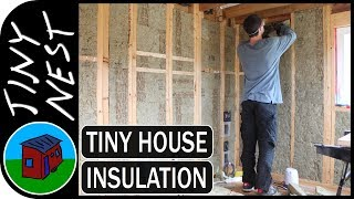 Insulating A Tiny House Ep.52