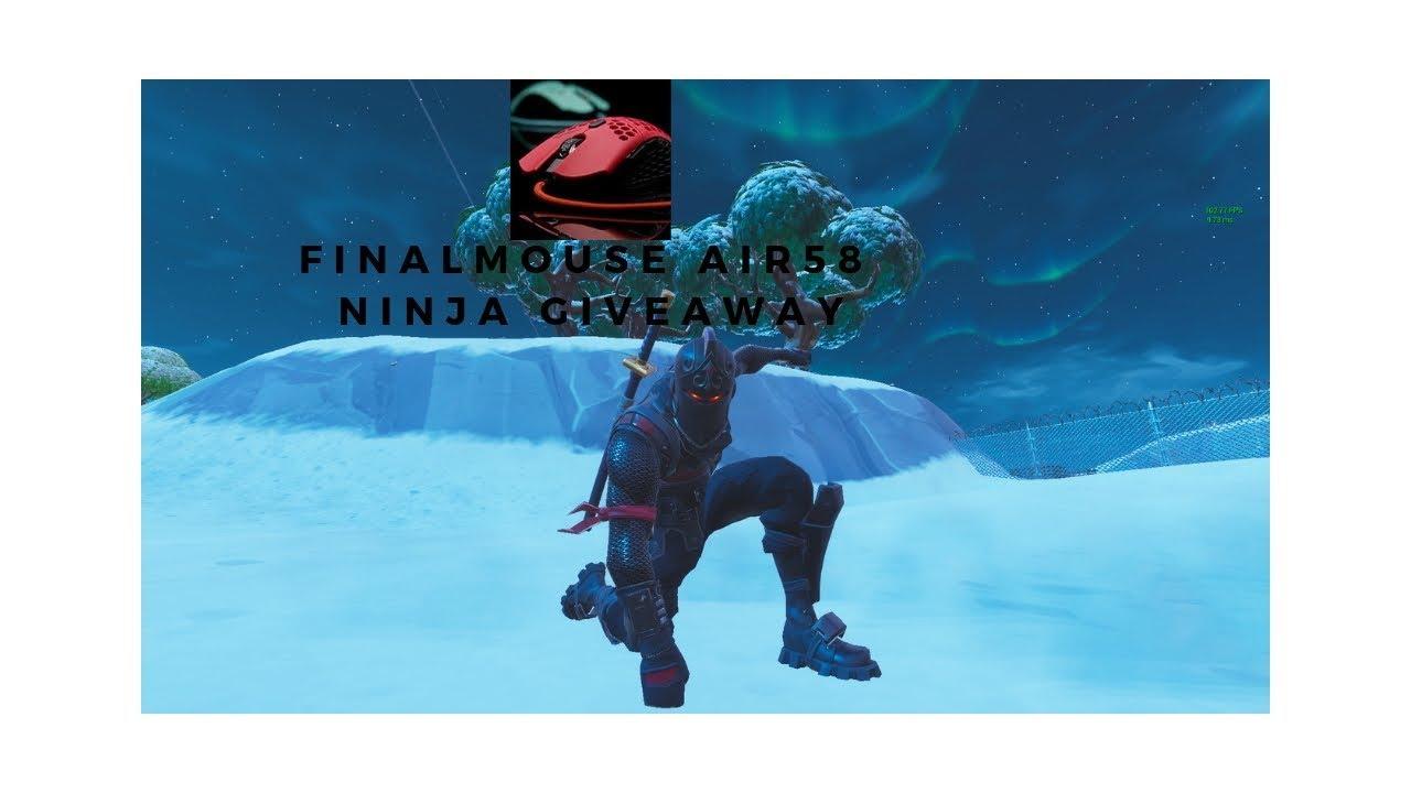 Finalmouse Air58 Ninja Giveaway Ninjas Mouse Youtube