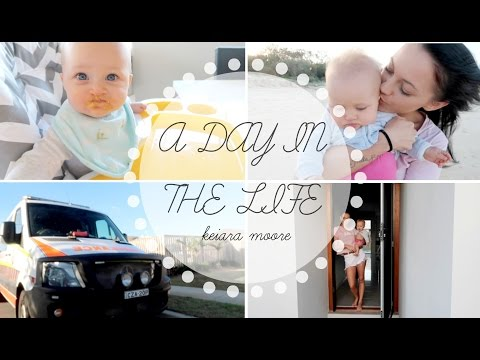 THE AMBULANCE TURNED UP! A DAY IN THE LIFE - KEIARA MOORE *AUSSIE MUM VLOGGER*