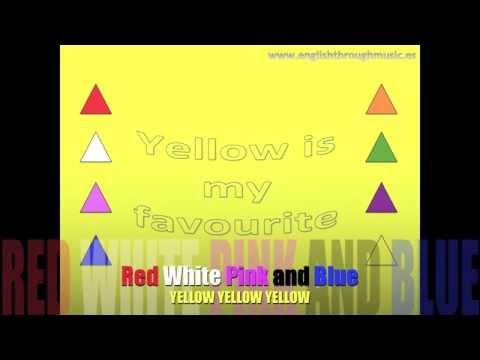 Colors Song - Yellow | Karaoke Version