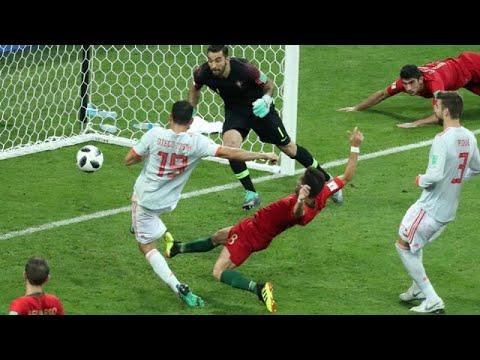 رونالدو يحرز أول ثلاثية في المونديال ويمنح التعادل لفريقة أمام اسبانيا …  - 22:21-2018 / 6 / 15