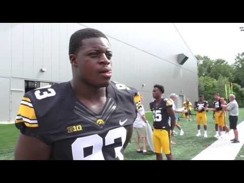 Iowa Media Day Defensive Players