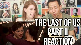 The Last of Us Part II Gameplay Trailer - REACTION!! (Vlog request)