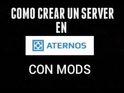 Como crear un server en Aternos con mods Bien Explicado ...