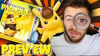 DÉTECTIVE PIKACHU VAUT-IL LE COUP ? - Preview/Gameplay Nintendo 3DS