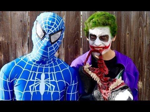 Twin Jokers Vs Venom Vs Green Hulk & Spiderman - Real Life Superhero Movie Compilation