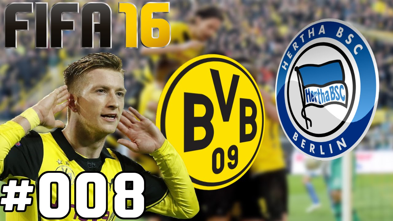 FIFA 16 Karrieremodus ★ Borussia Dortmund ★ REUS im ZOM ...