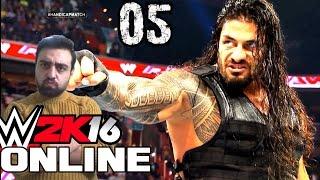 WWE 2K16 Online Türkçe | Gahta bi Roman Baba Spear ceksin | Ümidi vs World | 5.Bölüm | Ps 4