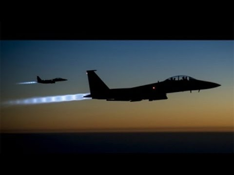 Syrian war: Bombed airbase back in service