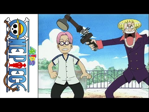 One Piece (4Kids Dub) Helmeppo's Threat - YouTube
