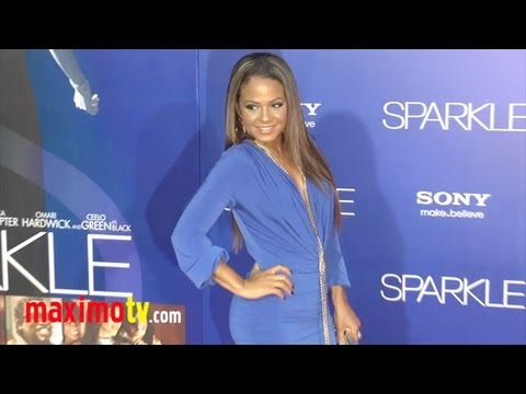 "Christina Milian Ridiculously BEAUTIFUL at ""Sparkle"" Premiere Arrivals thumbnail"