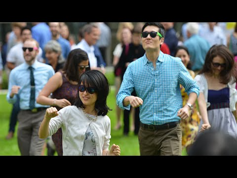 """Uptown Funk"" Flash Mob by Baylor College of Medicine students at Match Day 2015"