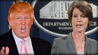 BOOM! TRUMP JUST TOOK DOWN HILLARY LACKEY SALLY YATES IN DEVASTATING TWITTER ATTACK -SHE'S FINISHED! thumbnail