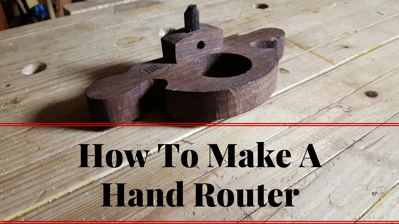 How to Make A Hand Router Plane With Hand Tools Building ...