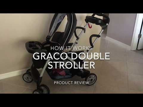 Graco Double Stroller: Click, Connect, Stand, And Ride