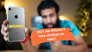Should you buy iPhone 7 in 2021 Review & Giveaway
