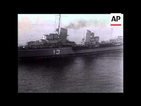 German Fleet In The English Channel