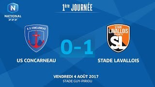 Concarneau vs Stade Lavallois full match