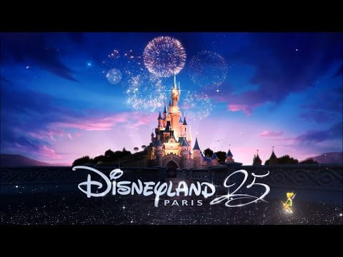 NEW Disneyland Paris 25th Anniversary Song -  Everyday's A Celebration, April 12th, 2017