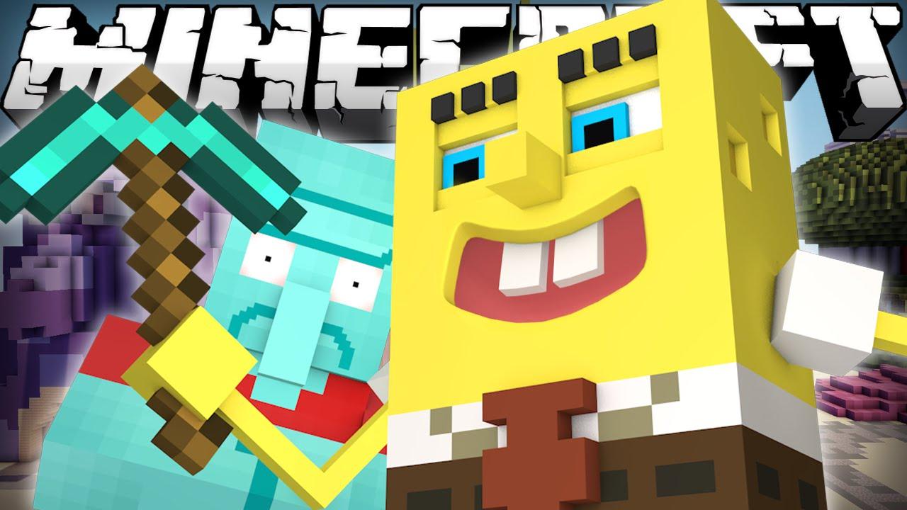 If Spongebob Played Minecraft Youtube