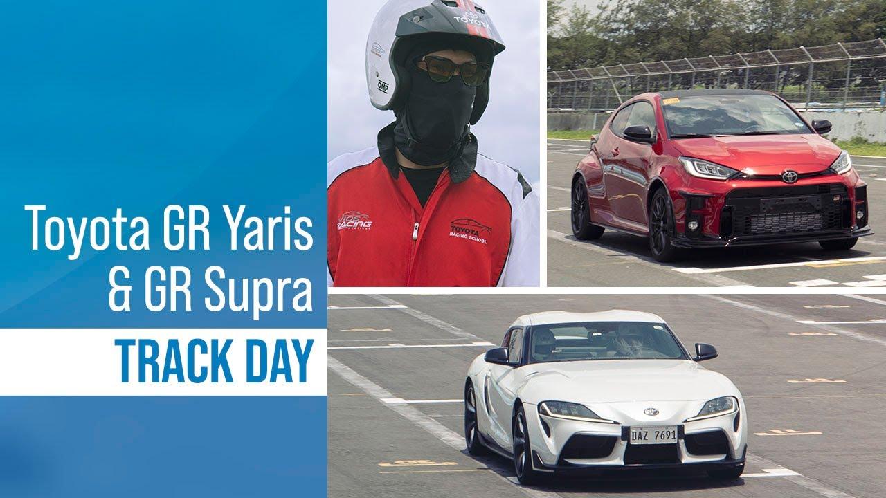 Toyota Philippines GR YARIS & GR SUPRA track day!