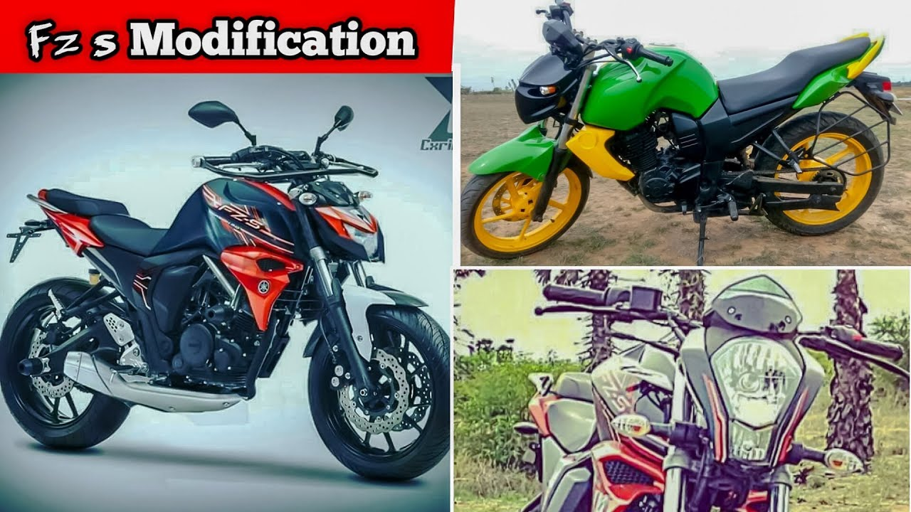 Yamaha fz s modification fz s best modified everfz modified