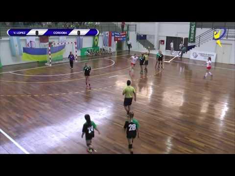 MUN. VICENTE LOPEZ Vs JOCKEY CLUB CORDOBA - Pan de Clubes - Asunción 2017