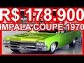 PASTORE R$ 178.900 Chevrolet Impala Coupé 1970 MT #IMPALA