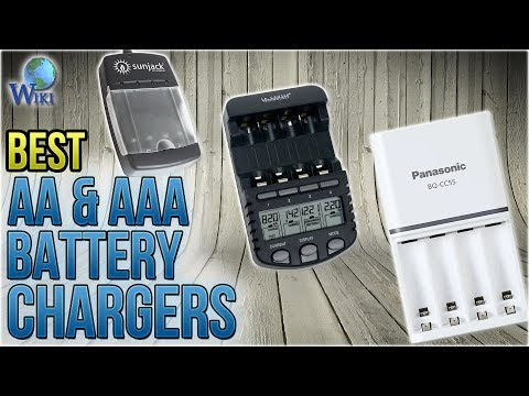 10 Best AA & AAA Battery Chargers 2018
