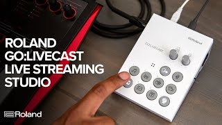 Roland GO:LIVECAST Live Streaming Studio for Smartphones