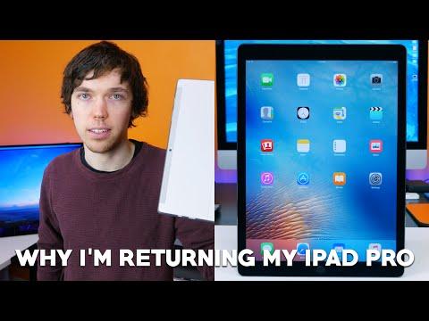 Why I'm Returning My iPad Pro