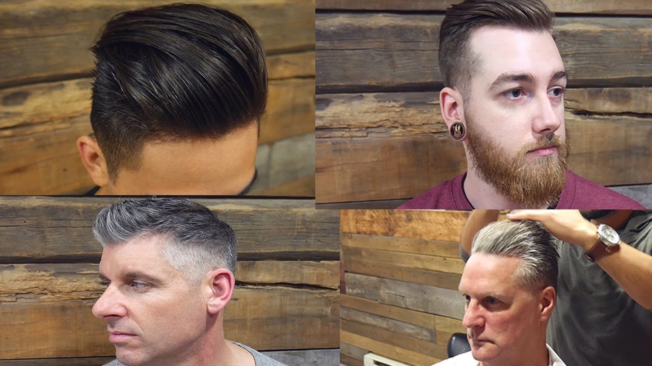 4 Men With 4 Different Style Haircuts Makeover 2017 Mens Hair