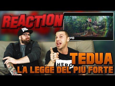 TEDUA - LA LEGGE DEL PIU FORTE | RAP REACTION 2017 | ARCADE BOYZ