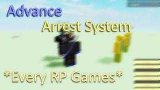 Arrest System | Roblox