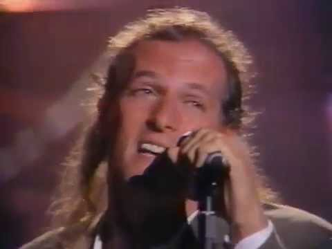 Joey Melotti/Michael Bolton 1992 on Arsenio Time Love & Tenderness